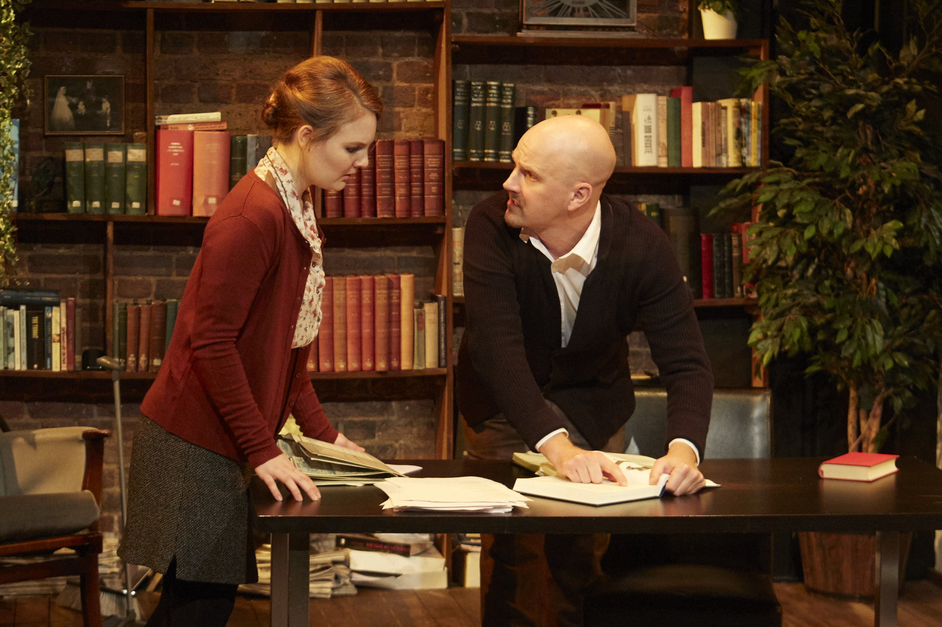 Philip NIghtingale and Becky Black in 'Darwin's Tortoise' picture by Elena Molina.jpg