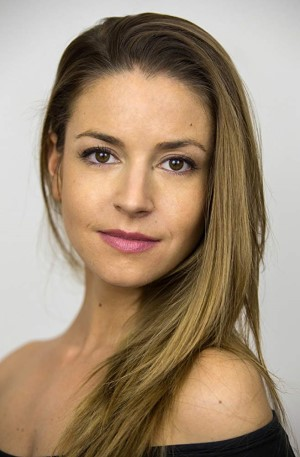 Photo of Candela Gómez who plays Emma in Corre at the Cervantes Theatre on 4th October 2019